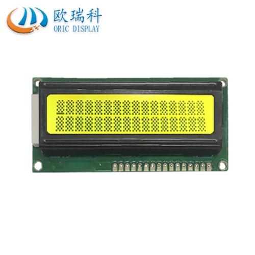 欧瑞科热销产品之一-----1602 LCD液晶显示屏黄绿膜蓝膜