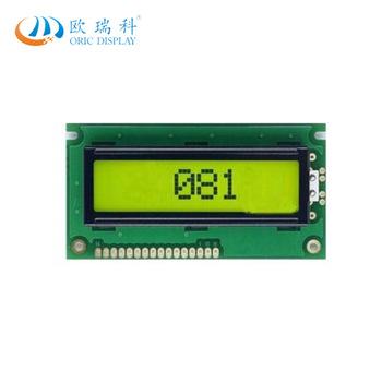 8×1字符型LCD液晶显示屏