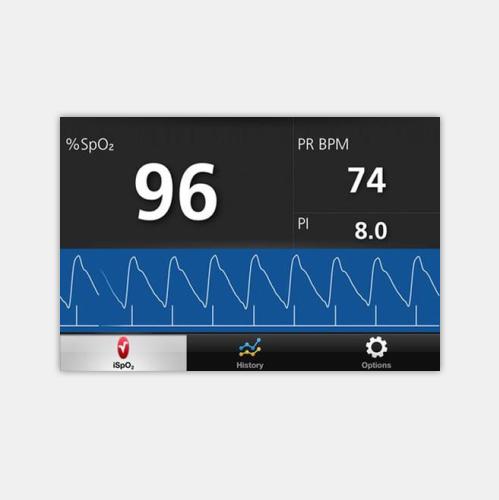 南通血氧仪显示屏
